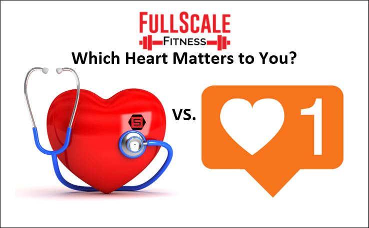 Which heart matters to you? Let one of our local personal trainers help educate you why the left always wins!