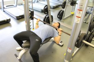 Smith Machine Bench Press - Full Scale Fitness Online Personal Training in Akron