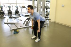 Banded Romanian Deadlift (RDL) - Online Personal Training Full Scale Fitness Exercise DAtabase